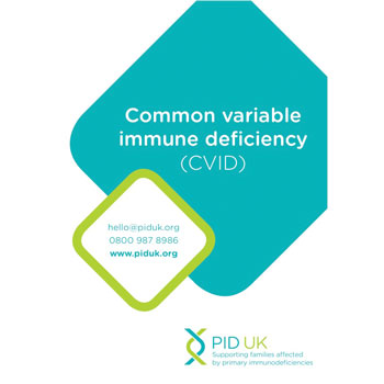 Common variable immune deficiency booklet
